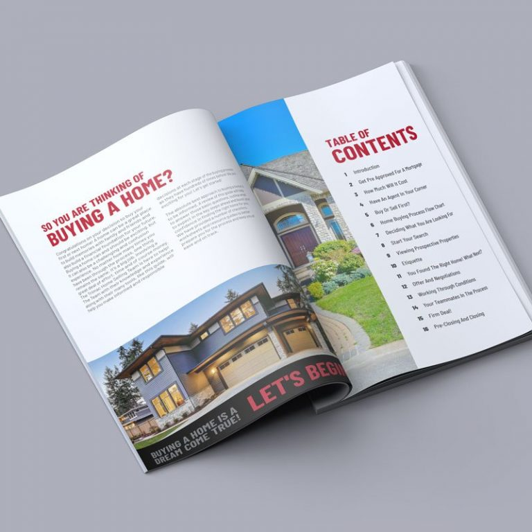 Real Estate Booklet Printing Halifax