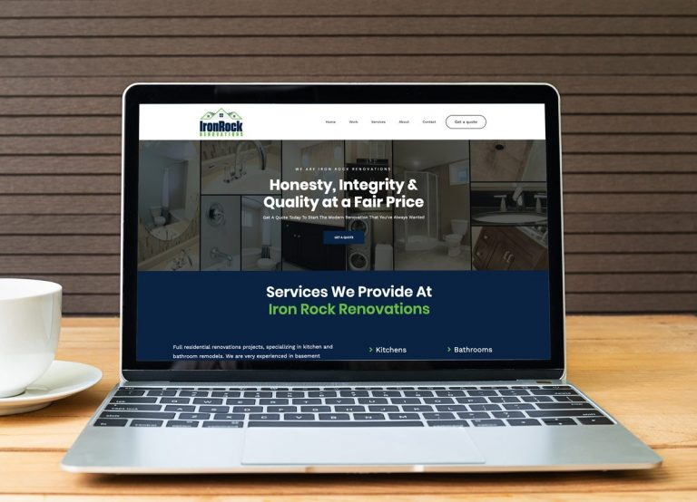 Construction Company Web Design Halifax