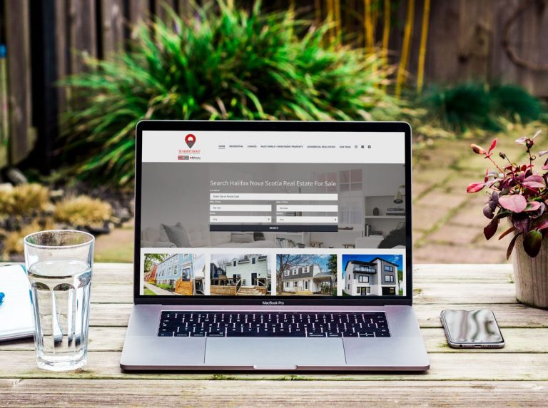 Real Estate Website Design Halifax