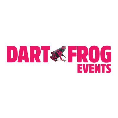 Dart Frog Events Logo Designer Halifax