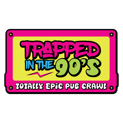 Trapped In The 90s Logo Design Halifax